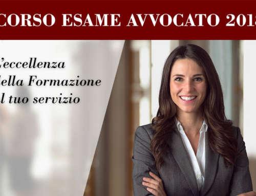 Corso nuovo Esame Avvocato 2018: perché scegliere Scuola di Legge